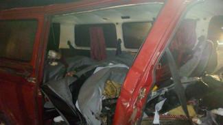 Видеорегистратор записал момент страшной аварии с 8 погибшими под Воронежем