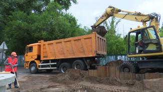 В Воронеже из-за ремонта коллектора до конца июля перекроют дорогу на левом берегу