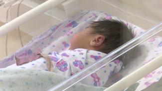В новогоднюю ночь в перинатальном центре Воронежа родились двое малышей
