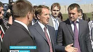 В День знаний губернатор Алексей Гордеев посетил Бутурлиновский район