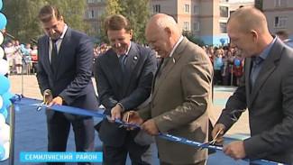 В Семилуках запустят новый завод, а пока открыли оздоровительный комплекс