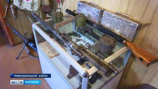 Воронежские поисковики создали музей Великой Отечественной войны в сельском элеваторе