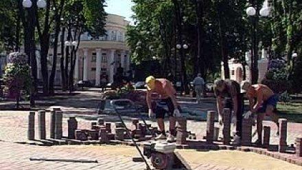 Бунинский сквер ко Дню города успеют привести в порядок