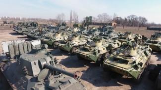 Под Воронежем показали подготовку военной техники к Параду Победы