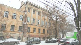 Воронежцев предупредили о серьёзной угрозе обрушения Дома кантонистов