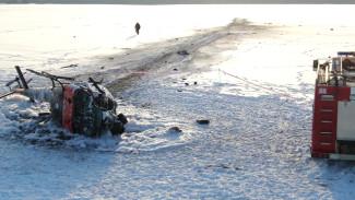Пострадавшего при падении вертолёта под Воронежем подключили к ИВЛ