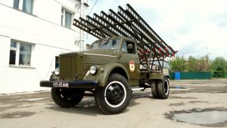 С ракетницей и аудиосистемой. Как в Воронежской области воссоздали легендарную «Катюшу»