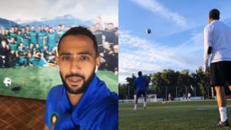 Появился видеоотчёт, как марокканские футболисты провели первый день в Воронеже