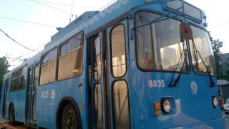Два троллейбусных маршрута исчезнут с улиц Воронежа до февраля