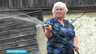 Вода уходит из кранов воронежцев – на огороды, или вовсе – высыхает