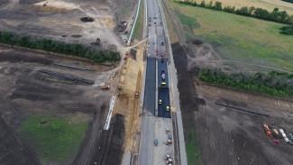 В Воронежской области заасфальтировали последние 80 м обхода Лосево на трассе М-4 «Дон»
