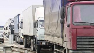 В Воронежской области временно запретили движение грузовиков