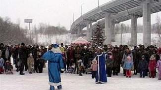 Воронежцы встречали Новый год по-спортивному