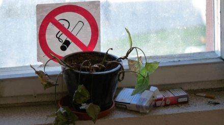 Россиянам запретят курить у подъездов многоквартирных домов