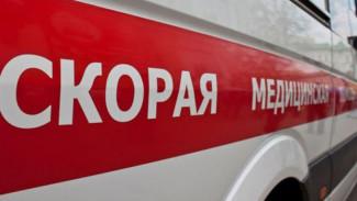 Под Воронежем 15-летний мотоциклист попал в больницу после ДТП с иномаркой