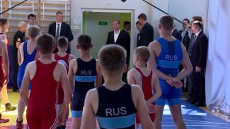 Дмитрий Медведев оценил спортивные объекты под Воронежем