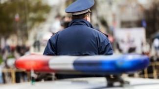 Водитель пойдёт под суд за попытку сбить полицейского в Воронежской области