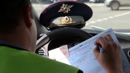 Под Воронежем поймали очередного лихача, задолжавшего по штрафам 42 тысячи