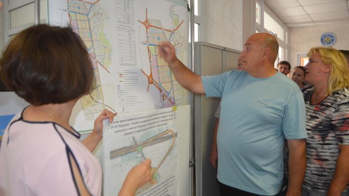 Жители Отрадного под Воронежем уберегли свои дома от сноса под строительство магистрали