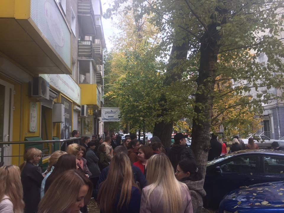 В Воронеже проверят офис Райффайзенбанк из-за сообщения о бомбе