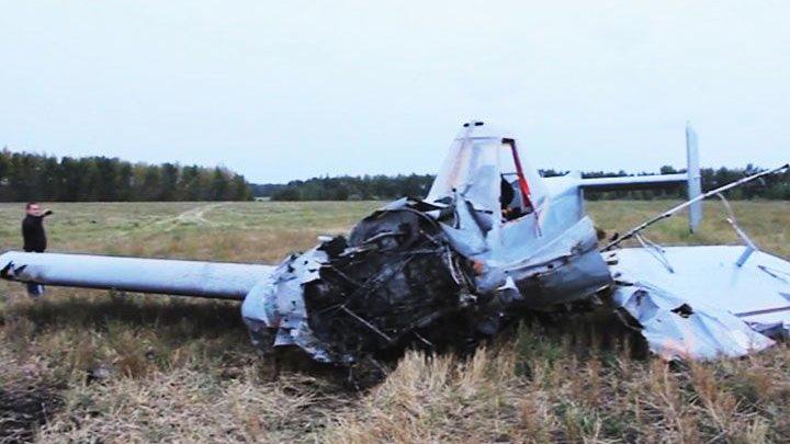 Эксперты назвали причину крушения самолёта «Ёжик» в Воронежской области