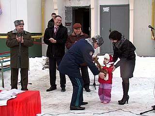 100 семей офицеров получили ключи от новых квартир в Воронеже