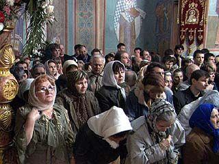 100.000 воронежцев приняли участие в Пасхальных богослужениях