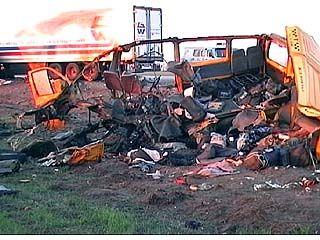 13 человек погибли в ДТП под Рогачевкой