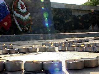 1.418 свечей загорелись в Воронеже в честь Победы