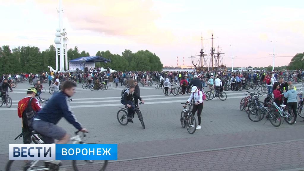Организаторы отложили проведение Велоночи в Воронеже