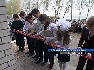 2 социально значимых объекта открыли в Мамоновке