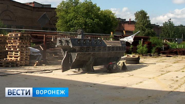На воронежском заводе завершили сборку баркалона «Меркурий»