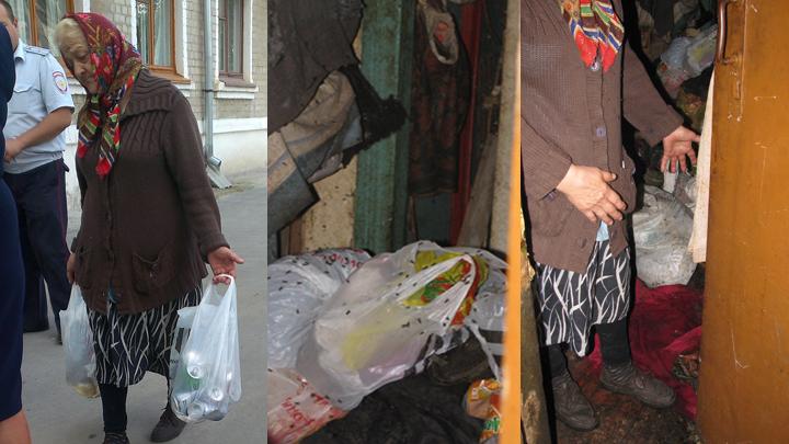 Отравляет жизнь всему дому. Воронежская пенсионерка устроила из своей квартиры свалку