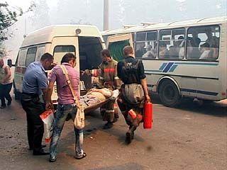 43 пострадавших от пожара воронежца в больницах в тяжелом состоянии