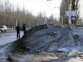 500 тысяч рублей из городского бюджета растаяли вместе со снегом