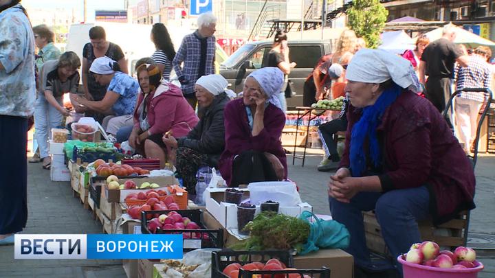 Клин клином. Воронежские власти придумали способ борьбы со стихийной торговлей