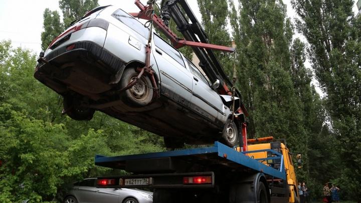 Воронежцам придётся заплатить за хранение их автохлама на муниципальной стоянке