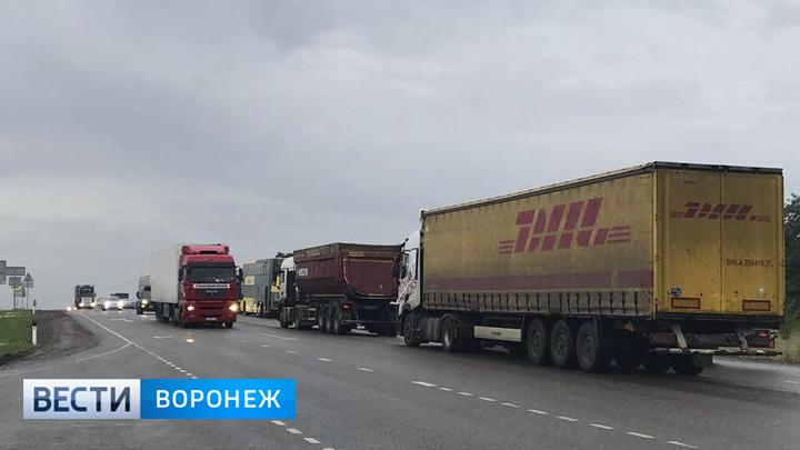 Воронежские автоинспекторы помогут сократить пробки в Лосево на трассе М-4 «Дон»