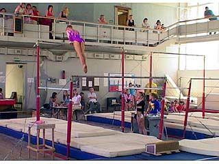 80 участниц боролись за награды в первенство по спортивной гимнастике