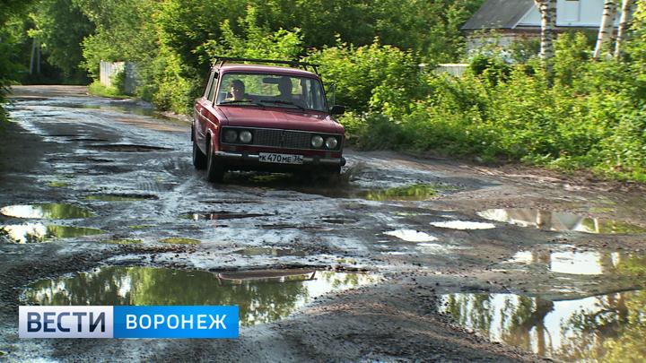 Воронежцев спасут от бездорожья у дачных участков до конца 2019 года