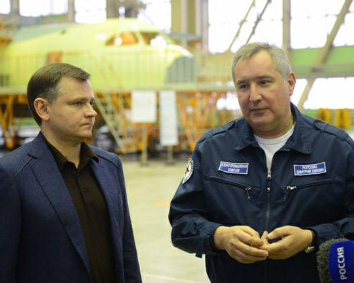 Дмитрий Рогозин сообщил, что «Почта России» заинтересовалась покупкой воронежского самолёта