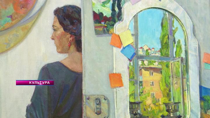 Художница Наталья Паршина представила свои работы в ректорской галерее ВГУ