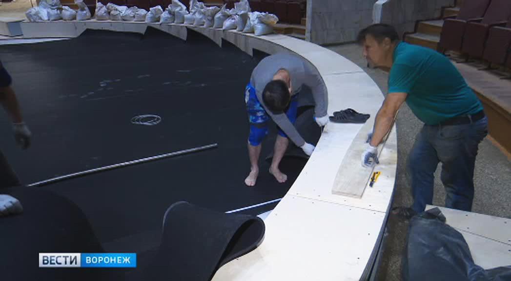 В Воронежском цирке завершается обновление манежа