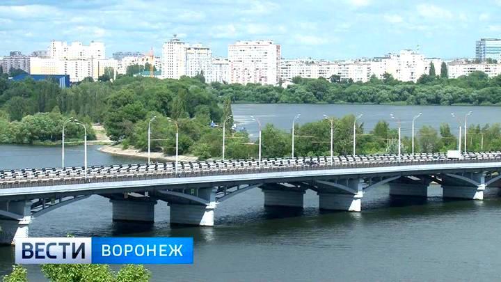 Воронежских водителей предупредили об опасностях, поджидающих на Чернавском мосту