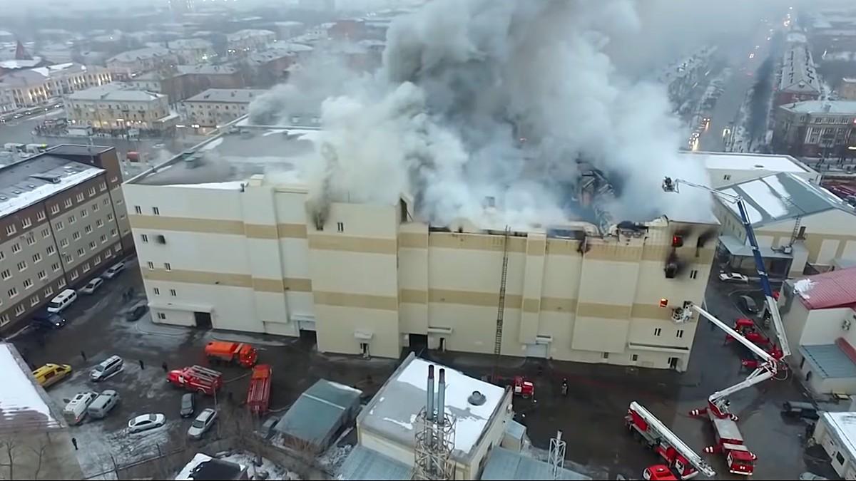 После пожара в Кемерове МЧС проверит торговые центры Воронежа