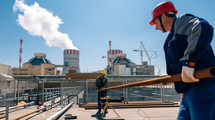 На энергоблоке Нововоронежской АЭС-2 началось заполнение брызгальных бассейнов