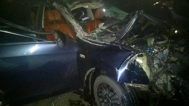 ДТП с иномаркой и трактором под Воронежем: в Nissan везли 4-дневного мальчика