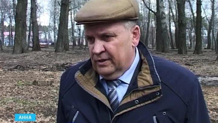 Мэр Анны Павел Мургин пойдёт под суд за вырубку 400 деревьев в парке