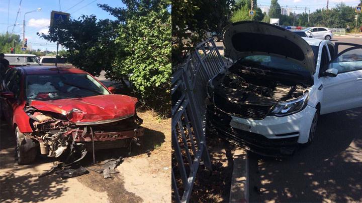 В Воронеже в автокатастрофе погибли женщина и трёхмесячный ребёнок