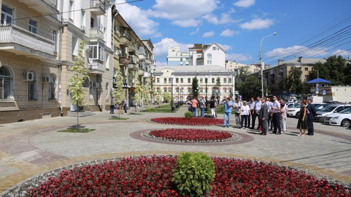 В Воронеже показали посвящённые нобелевским лауреатам арт-объекты для сквера Учёных